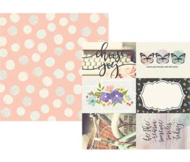 Simple Stories Bliss 4x6 Elements Paper 10019