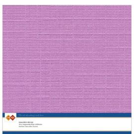 Linnenkarton - 30.5 x 30.5 - Fuchsiapaars
