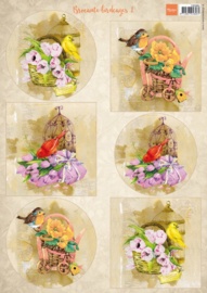 Marianne design knipvel Birds & Birdcages 1 VK9585