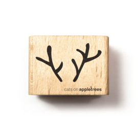 Cats on Appletrees - 2555 - Stempel - Gewei