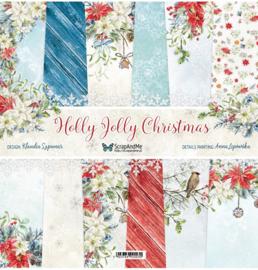 Designpapier - S&M - Holly Jolly Christmas - 30,5x30,5