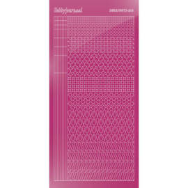 Hobbydots sticker - Mirror Pink