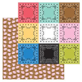 5951: hog heaven double-sided cardstock