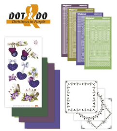 Dot and Do 16 - Christmas in Purple