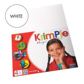 Collall Krimpie - Magic Plastic wit 4 Vellen COLKPWT4