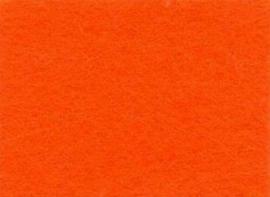 Viltlapjes viscose oranje  20x30cm - 1mm