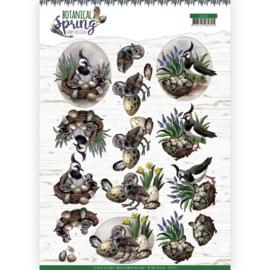 Amy Design -3D Knipvel - Botanical Spring - Lapwing CD11471 - HJ18101