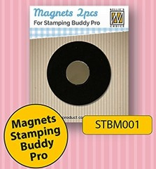 Nellie's Choice 2 magneten voor Stamping Buddy Pro STBM001