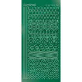 Hobbydots sticker - Mirror - Christmas Green