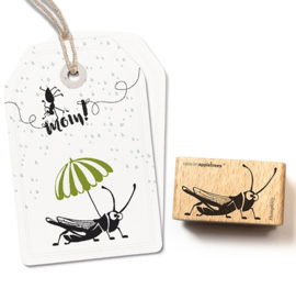 Cats on Appeltrees - 27278 - Stempel - Sprinkhaan Humprey