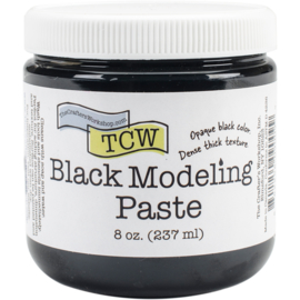The crafters workshop  Black modeling paste