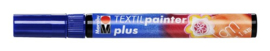 Marabu Textil painter - plus punt 3 mm - Donkerblauw