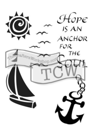 TCW2150 Hope is an Anchor 6x9