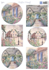 Marianne D 3D Knipvellen Mattie's mooiste: Cottages MB0173