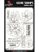 iCraft - Clear Stempel - Shining glory