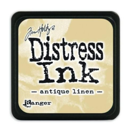Ranger Distress Mini Ink pad - antique linen TDP39846 Tim Holtz