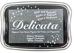 Delicata large inkpadsDE-000-192 Silvery Shimmer