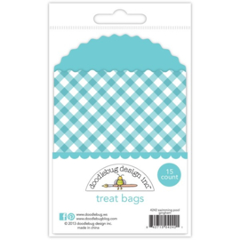 4242: treat bags- swimming pool gingham