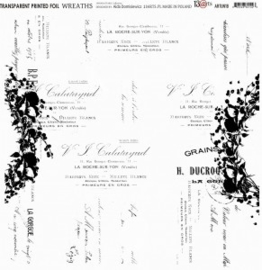 Transparante Sheets -Wreaths - 13Arts - Set Unforgettable