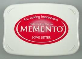 Memento InkpadsME-000-302Love Letter