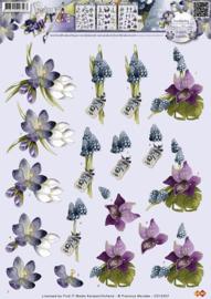 3D Knipvel - Precious Marieke - Bloemen CD10357