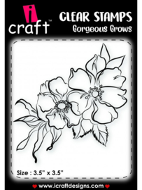 iCraft - Clear Stempel - Gorgeous Grows