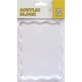 AB006Acrylic bloc 70x90x8mm