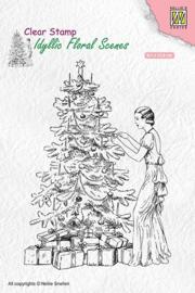 "nellie snellen I Idyllic Floral scenes ""Vintage Christmas"""