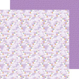 5639: magical unicorns double-sided cardstock