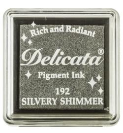 Delicata Silvery Shimmer Small inkpad DE-SML-192