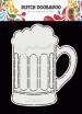 Dutch Doobadoo - Dutch Card Art A5 Bier Glas -  470.713.775