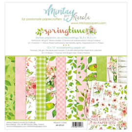 Paperpad Mintay - Spring Time 30,5 x 30,5 cm - MT-SPR-07