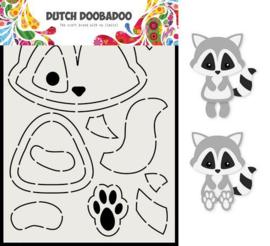 Dutch Doobadoo Card Art A5 Wasbeer 470.713.817