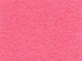 Viltlapjes viscose roze  20x30cm - 1mm