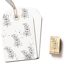 Cats on Appletrees - 2499 - Stempel - Eucalyptus contour