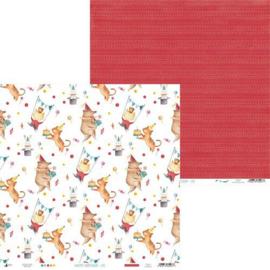 Piatek13 - Paper Happy Birthday 05 P13-412 12x12