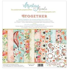 Paperpad Mintay - Together 30,5 x 30,5 cm - MT-TOG-07