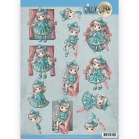 3D Knipvel - Lilly Luna - yvonne creations  Mooie strikken