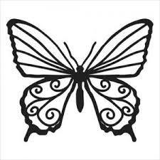 TCW 4x4 TCW2031 Butterfly Bits 4x4 Stencil
