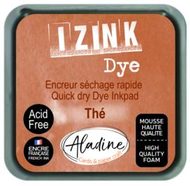 Aladine inkpad izink dye brun the