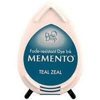 Memento Dew dropsMD-000-602Teal Zeal