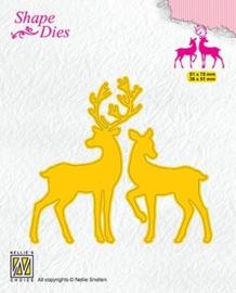 """SD169 Shape Dies """"Deer"""""""