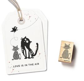 Cats on Appletrees - 27496 - Stempel - Gehaakte kat