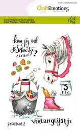 CraftEmotions clearstamps A6 - Sint 2 Carla Creaties