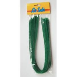 Le suh Chenille draad Groen