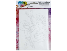 Ken Oliver - Heirloom Rose Panel Cards