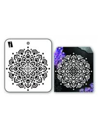 iCraft - Mini Stencil - Bloem Mandala - I-8934