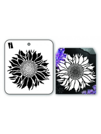 iCraft - Mini Stencil Sunflower - I-8901