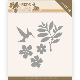 Jeanine's Art - Birds and Flowers - Birds Foliage
