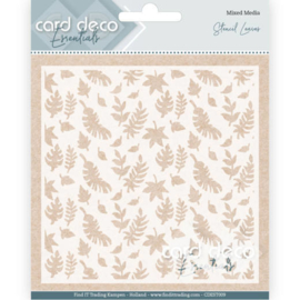 Card Deco Essentials - Stencil Leaves